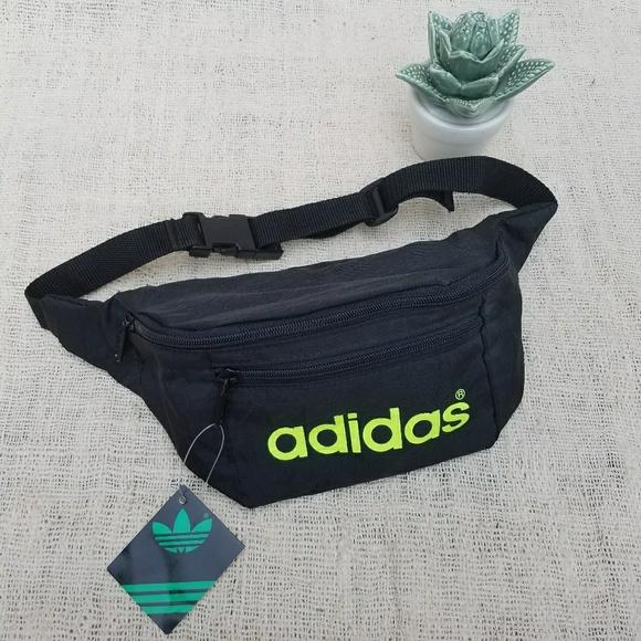 2fe8ec55d5 Vintage 80s Adidas Deadstock Fanny Pack Belt Bag